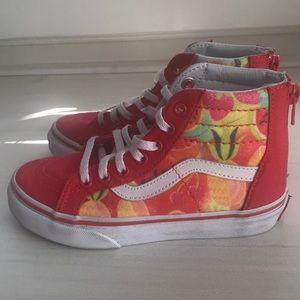c7ce0c360d4 Vans Shoes - Girls SK-8-HI Zip Glitter Fruit Vans